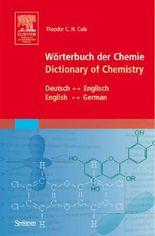 Wörterbuch der Chemie - Dictionary of Chemistry