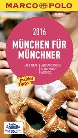MARCO POLO Cityguide München für Münchner 2016