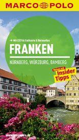 MARCO POLO Reiseführer Franken, Nürnberg, Würzburg, Bamberg