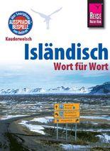 Reise Know-How Sprachführer Isländisch - Wort für Wort