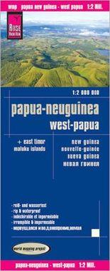 Reise Know-How Landkarte Papua-Neuguinea, West-Papua (1:2.000.000)