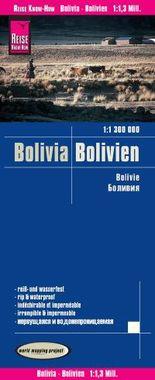 Reise Know-How Landkarte Bolivien (1:1.300.000)