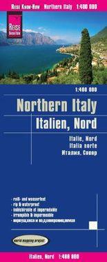 Reise Know-How Landkarte Italien, Nord (1:400.000)