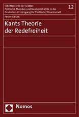 Kants Theorie der Redefreiheit