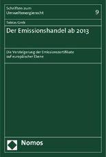 Der Emissionshandel ab 2013