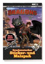 Dragons: Drachenstarker Sticker- und Malspaß