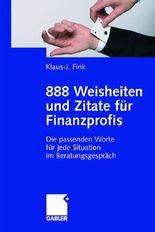 888 Weisheiten und Zitate für Finanzprofis