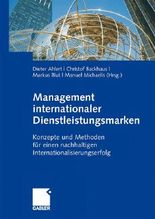 Management internationaler Dienstleistungsmarken
