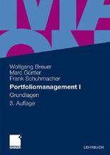 Portfoliomanagement I