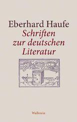 Schriften zur deutschen Literatur