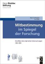 Mitbestimmung im Spiegel der Forschung: Eine Bilanz der empirischen Untersuchungen 1952-2010