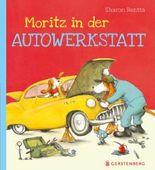 Moritz in der Autowerkstatt