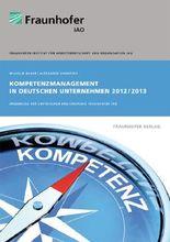 Kompetenzmanagement in deutschen Unternehmen 2012/2013