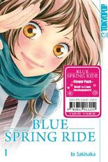 Blue Spring Ride Flower Pack