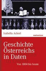Geschichte Österreichs in Daten: Von 1804 bis heute