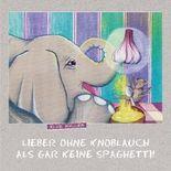 Lieber ohne Knoblauch als gar keine Spaghetti!