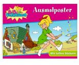 Bibi Blocksberg: Ausmalposter