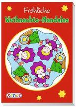 Fröhliche Weihnachts-Mandalas