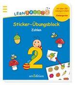 Lernraupe - Sticker-Übungsblock Zahlen