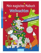 Mein magisches Malbuch Weihnachten