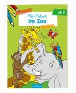 Malbuch ab 5 Jahren - Im Zoo VE 5