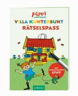 Pippi Langstrumpf - Villa Kunterbunt Rätselspaß