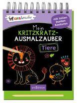 Mein Kritzkratz-Ausmalzauber Tiere