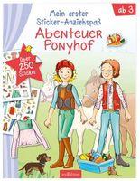 Mein erster Sticker-Anziehspaß - Abenteuer Ponyhof