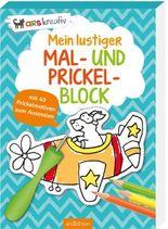 Mein lustiger Mal- und Prickel-Block