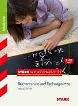 Stark in Klassenarbeiten Rechengesetze 5. bis 10. Klasse