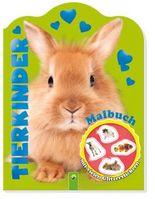 Glitzersticker-Malbuch Tierkinder (Hase)