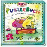 Janosch Puzzlebuch - Tiger und Bär machen einen Ausflug