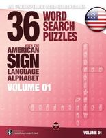 ASL Fingerspelling Games – 36 Word Search Puzzles with the American Sign Language Alphabet