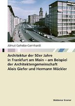 Architektur der 50er Jahre in Frankfurt am Main