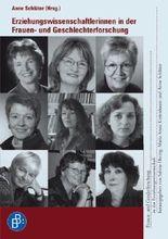 Erziehungswissenschaftlerinnen in der Frauen- und Geschlechterforschung