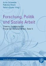 Forschung, Politik und Soziale Arbeit