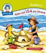 Bambini Spiel mit ISA am Strand