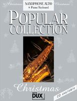 Popular Collection, Christmas, Saxophone Alto + Piano/Keyboard