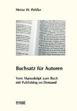 Buchsatz für Autoren