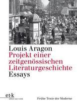 Projekt einer zeitgenössischen Literaturgeschichte