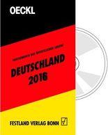 OECKL. Taschenbuch des Öffentlichen Lebens – Deutschland 2016 – Kombi-Ausgabe (Buch + CD-ROM)