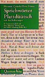 Sprichwörter Plattdüütsch