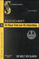 Festschrift für Klaus Trost zum 65. Geburtstag