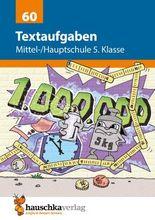 Textaufgaben Mittel-/Hauptschule 5. Klasse