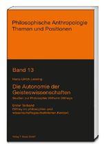 Die Autonomie der Geisteswissenschaften