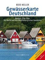Gewässerkarte Deutschland Nordost