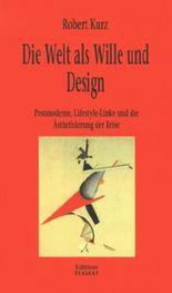 Die Welt als Wille und Design