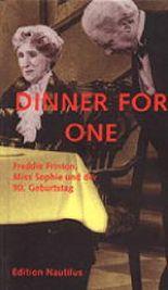 Dinner for one