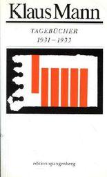 1931 bis 1933 (Tagebücher)