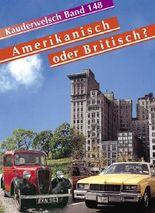 Reise Know-How Sprachführer Amerikanisch oder Britisch?